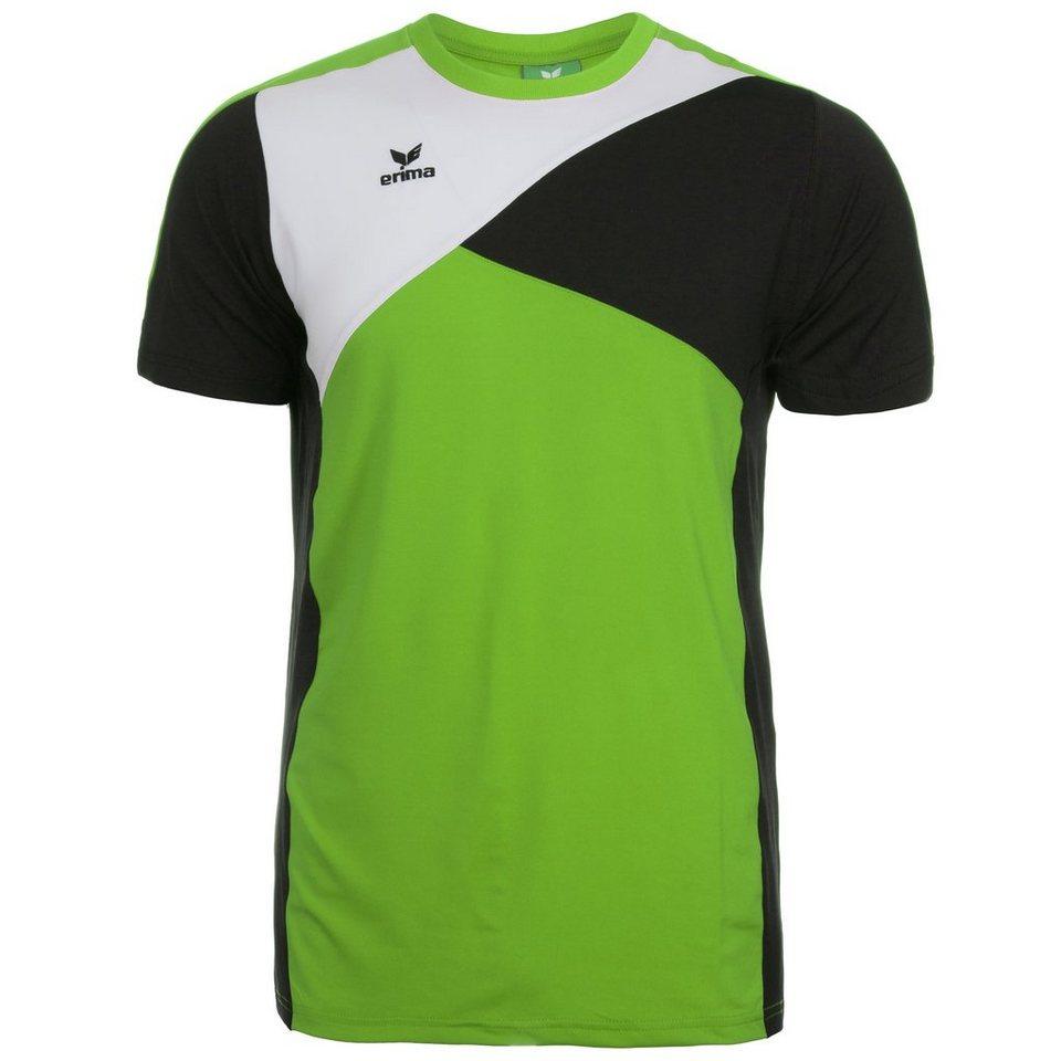 ERIMA Premium One T-Shirt Herren in green/schwarz/weiß