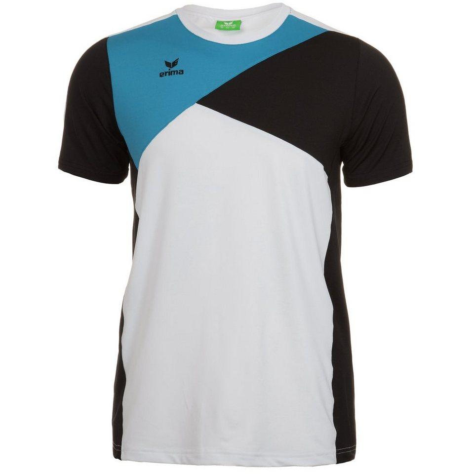 ERIMA Premium One T-Shirt Kinder in weiß/schwarz/curacao