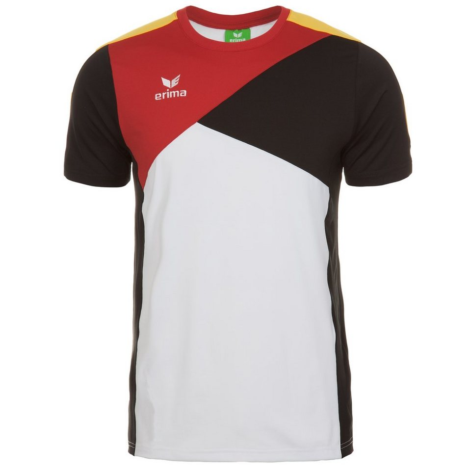 ERIMA Premium One T-Shirt Kinder in weiß/schwarz/rot
