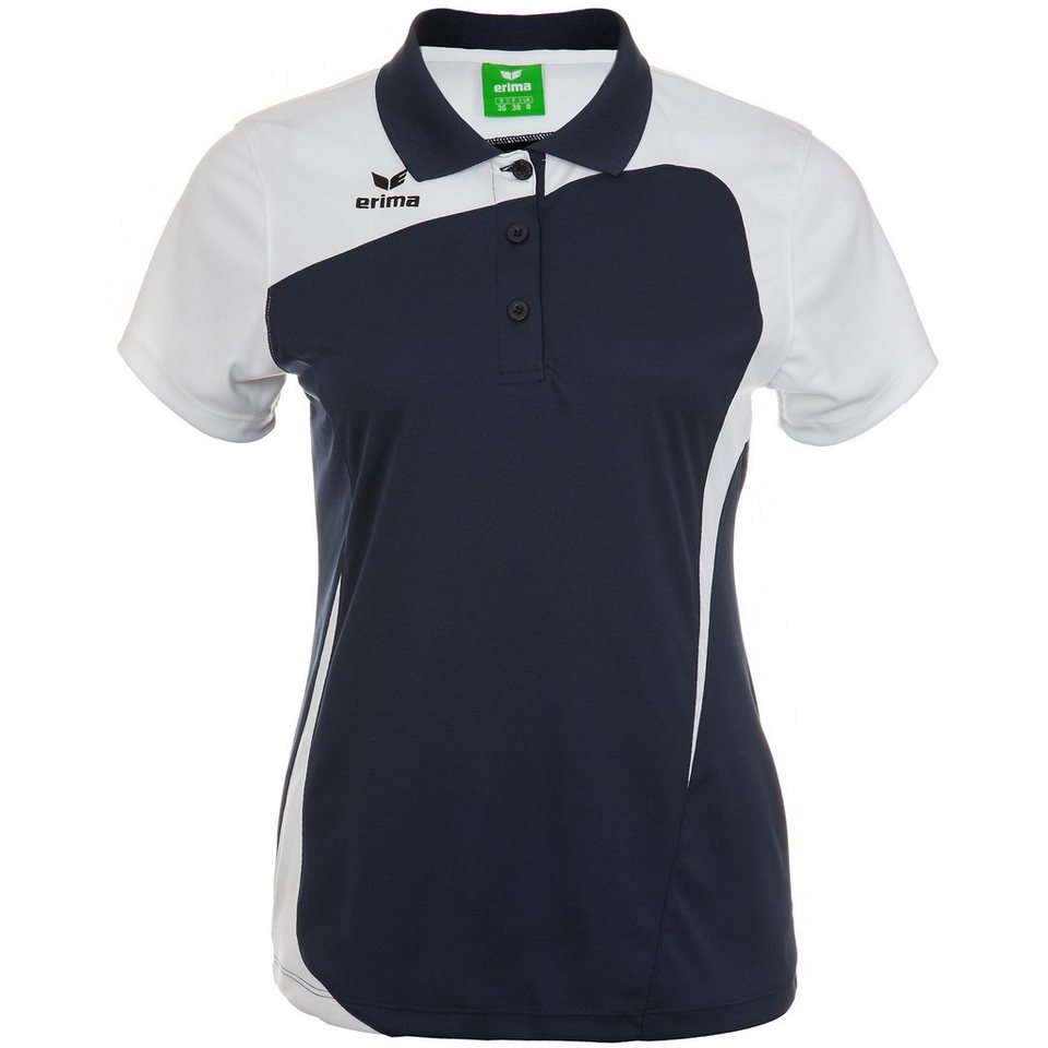 ERIMA CLUB 1900 Poloshirt Damen in new navy/weiß