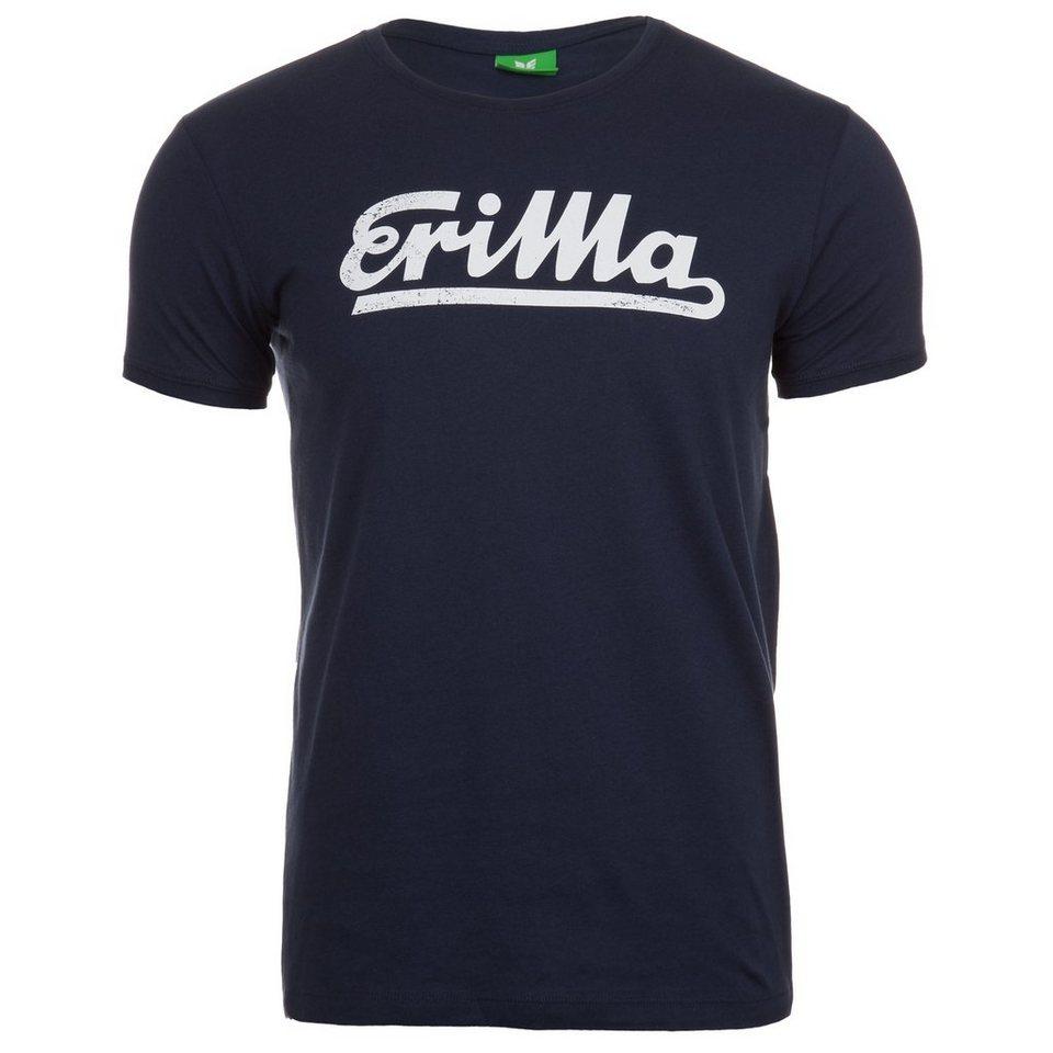 ERIMA Retro T-Shirt Kinder in new navy/weiß