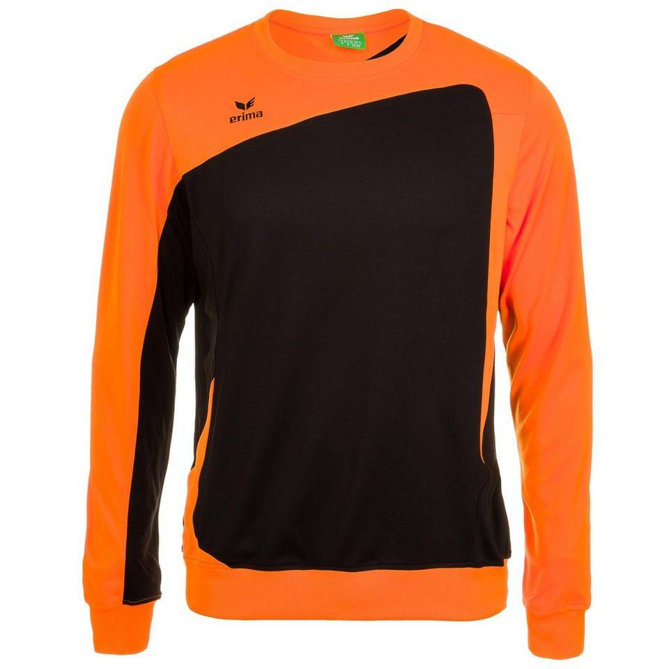 ERIMA CLUB 1900 Trainingssweat Kinder in schwarz/neon orange
