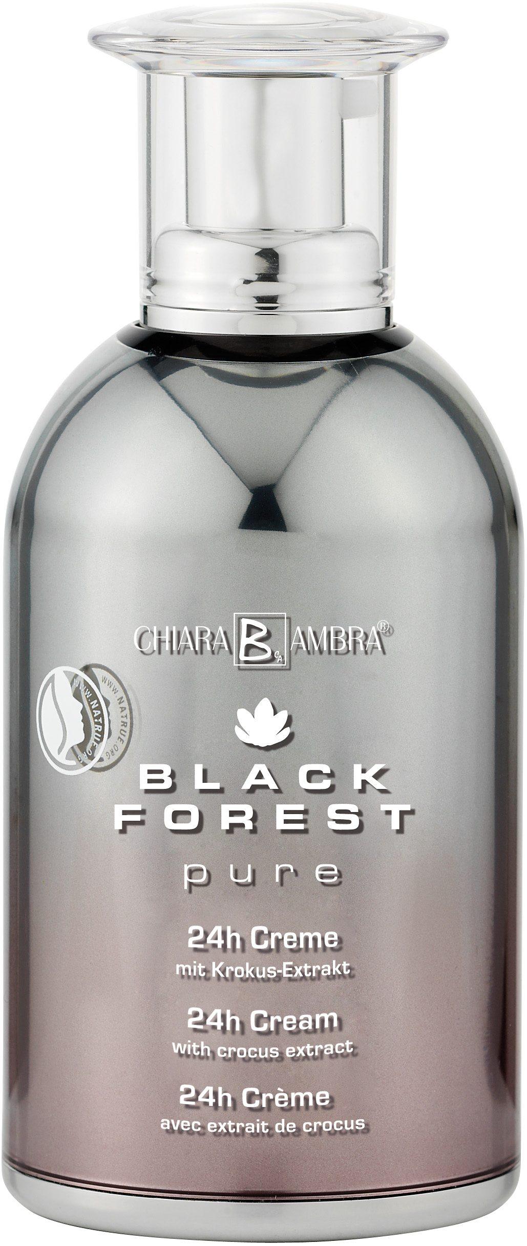 Chiara Ambra®, »Black Forest Pure«, vegane 24h Anti-Aging Creme