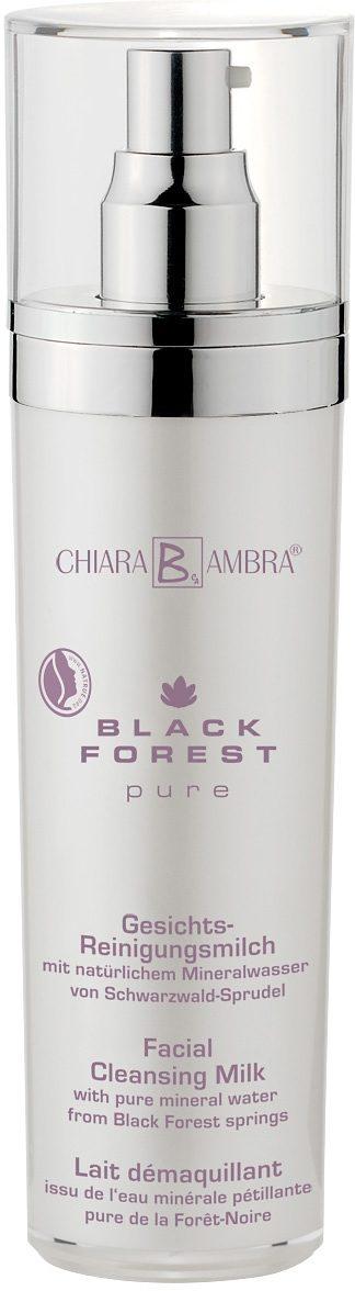 Chiara Ambra®, »Black Forest Pure«, vegane Gesichtsreinigungsmilch