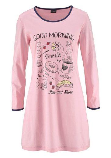 Süßem Dreams Nachthemden2 StückMit Frontprint MarineRosa Vivance 8wNnm0