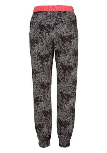 Buffalo Pyjama, gemusterte Hose mit Eingrifftaschen