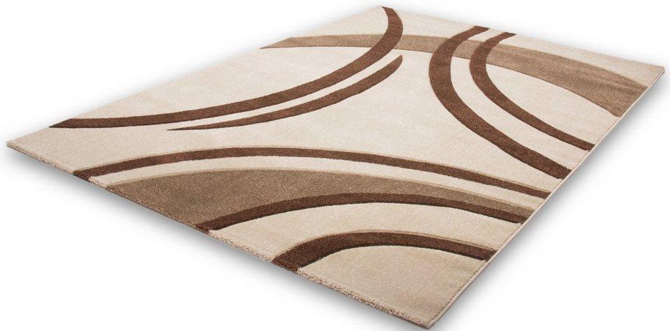 Teppich, Lalee, »Havanna 409«, gewebt in Elfenbein