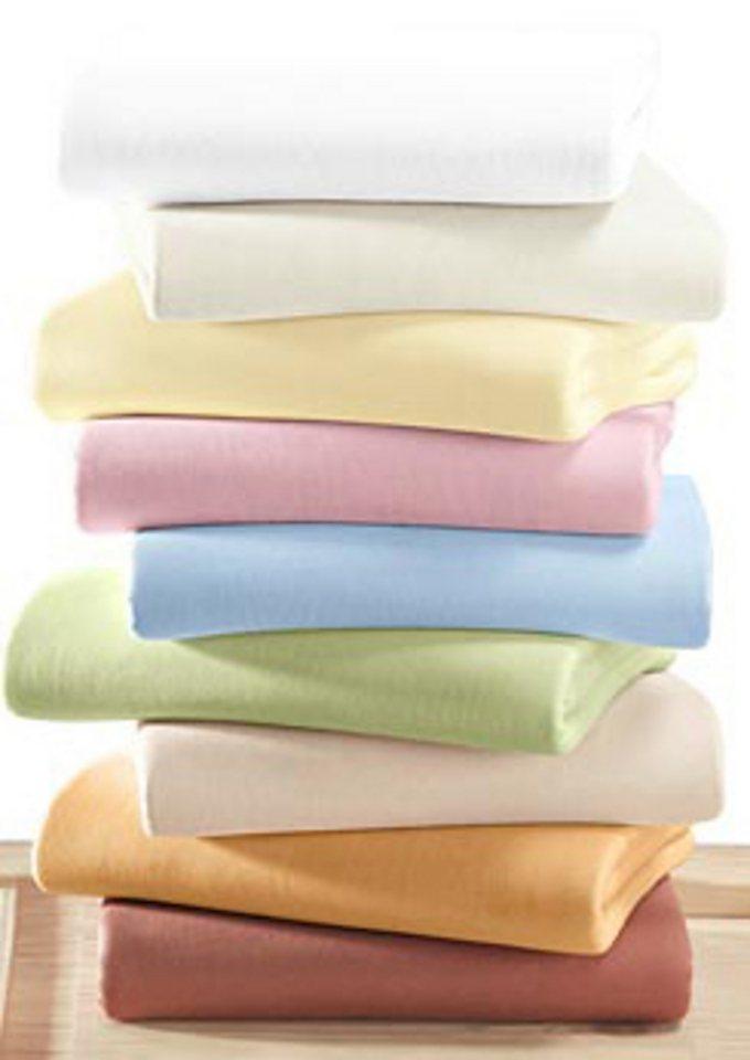 Spannbetttuch (1 Stück) in beige