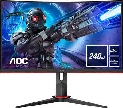 """AOC C27G2ZU/BK Gaming-Monitor (68,6 cm/27 """", 1920 x 1080 Pixel, Full HD, 0,5 (MPRT) ms Reaktionszeit, 240 Hz, VA LCD)"""