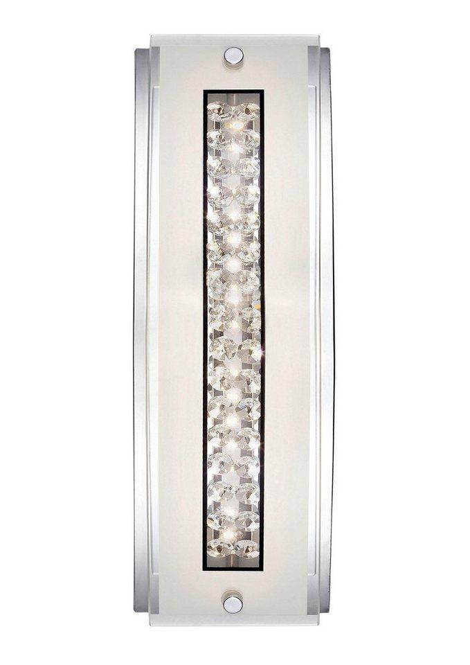 LED-Wandlampe, Paul Neuhaus in chrom