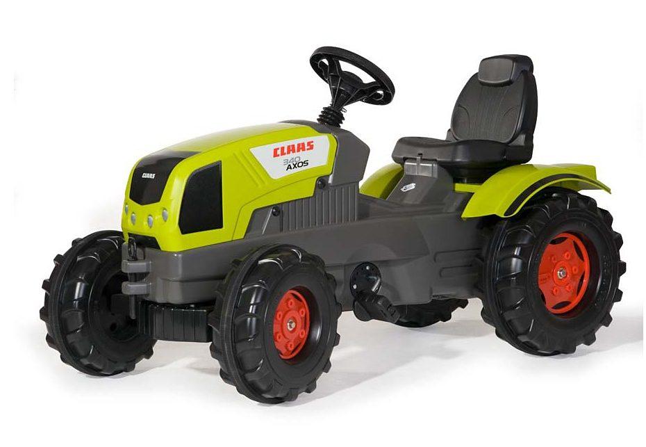 rolly toys® Trettraktor mit Flüsterlaufreifen »rollyFarmtrac Claas Axos 340«