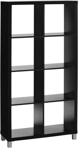 Raumteilerregal »Kiwi«, mit 8 Fächern