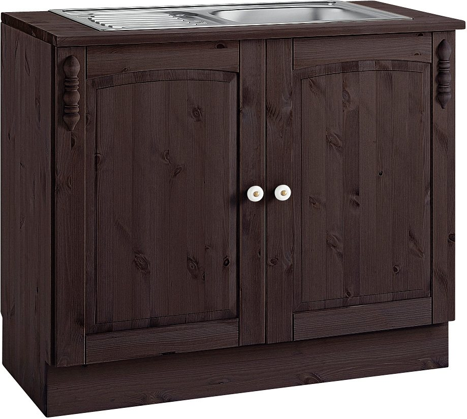 Spülenschrank »Sylt«, mit 2 Türen | Küche und Esszimmer > Küchenschränke > Spülenschränke