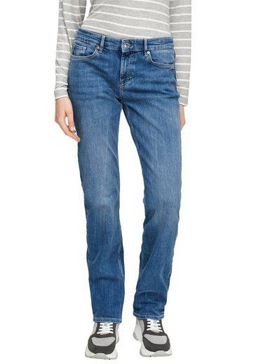 s.Oliver Regular-fit-Jeans »Karolin« straight leg, mid rise