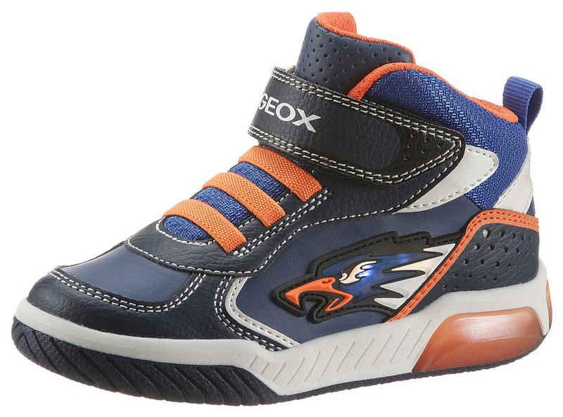 Geox Kids »J Inek Boy Blinkschuh« Sneaker mit Blinkfunktion