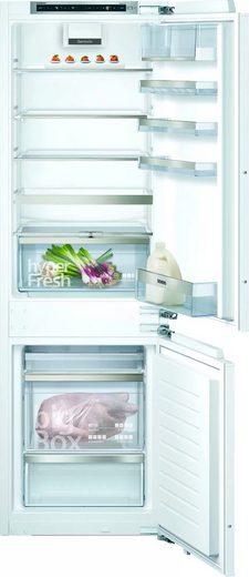 SIEMENS Einbaukühlgefrierkombination iQ500 KI86SHDD0, 177,2 cm hoch, 55,8 cm breit