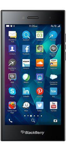 Blackberry Leap Smartphone (12,7 cm/5 Zoll, 16 GB Speicherplatz, 8 MP Kamera)