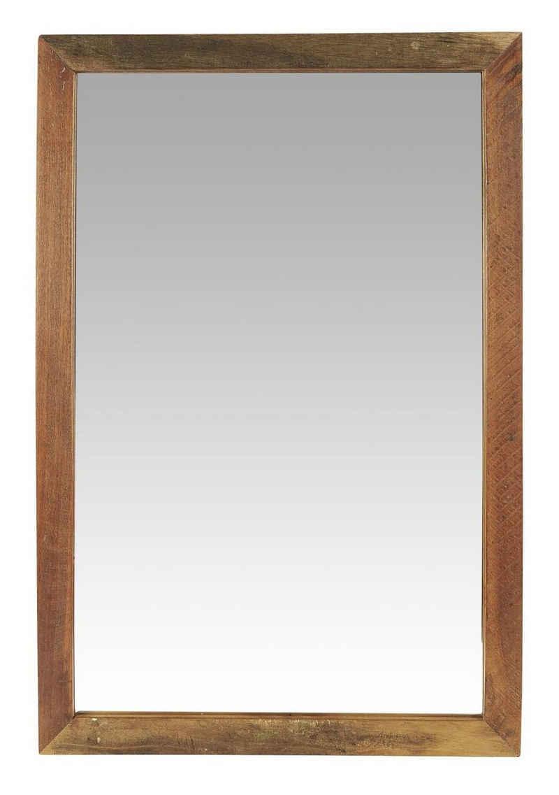 Ib Laursen Spiegel »Wandspiegel Spiegel Holzrahmen Holz Unika 40cm x 60cm Ib Laursen 2116 00«
