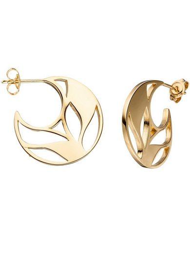 Adelia´s Paar Ohrhänger, 925 Silber Ø 2.37 mm