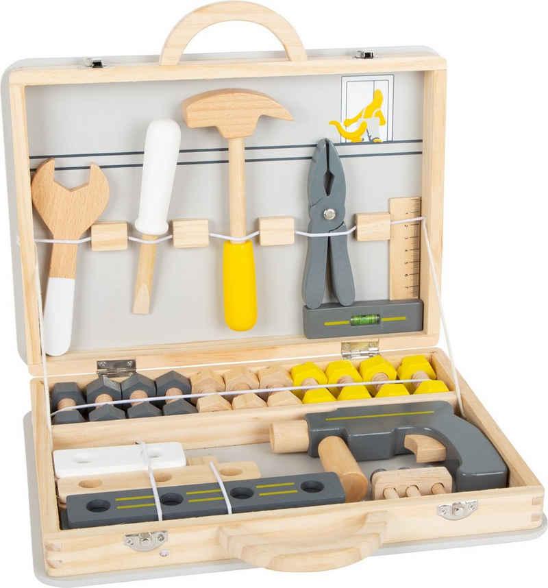 Small Foot Kinder-Werkzeug-Set »Werkzeugkoffer Miniwob«, (44-tlg)