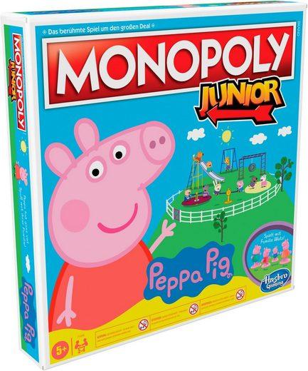 Hasbro Spiel, »Kinderspiel, »Monopoly Junior: Peppa Pig««