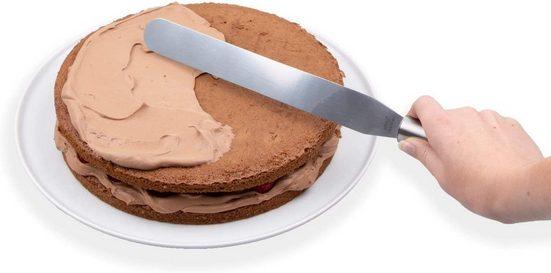 CHG Tortenwerkzeug »Streichpalette Konditorenmesser 37 cm x 3 cm«, aus Edelstahl