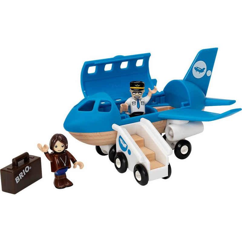 BRIO® Spielzeug-Eisenbahn »Blaues Flugzeug«