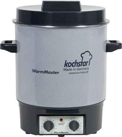 Weck Einmachglas »Kochstar Einkochautomat WarmMaster S / Einkochtopf / Einkocher m. Uhr 24118«