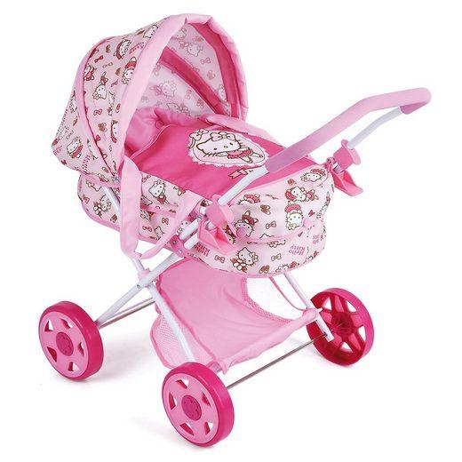 hauck TOYS FOR KIDS Kombi-Puppenwagen »Diana - Hello Kitty«, (1-tlg), mit Tragetasche