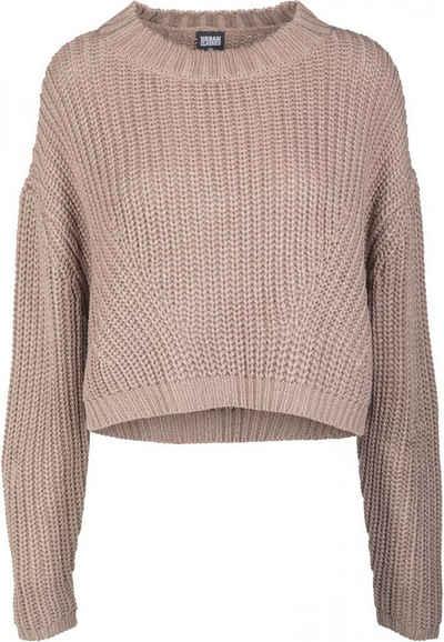 URBAN CLASSICS Sweatshirt »Ladies Wide Oversize Sweater«