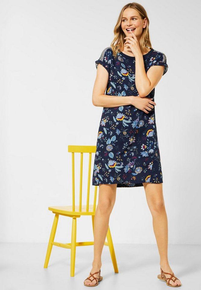 cecil -  Sommerkleid mit überschnittener Schulter
