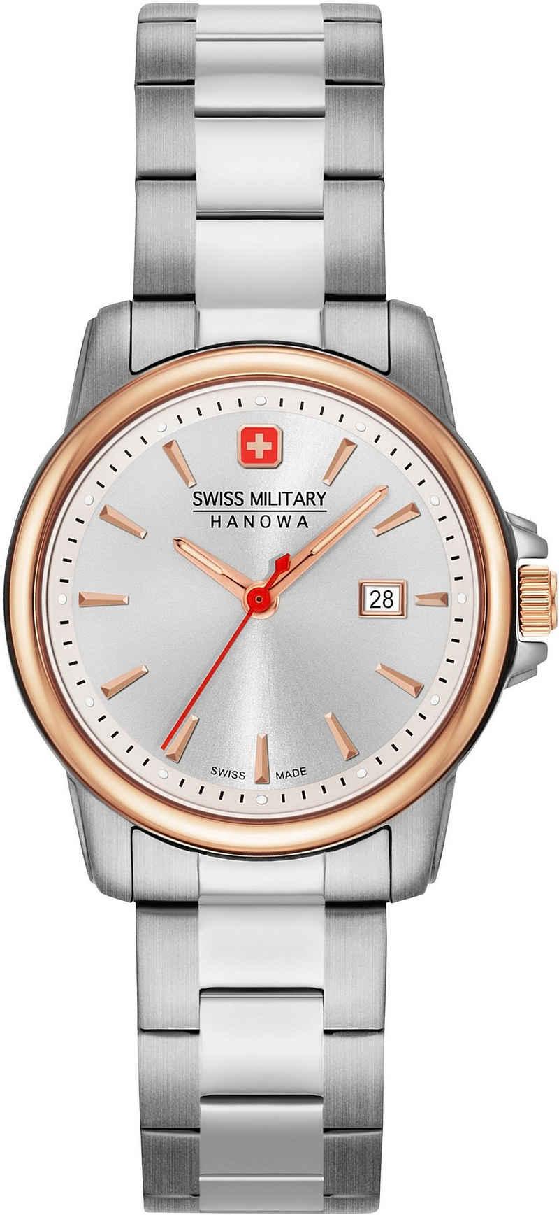 Swiss Military Hanowa Schweizer Uhr »SWISS RECRUIT LADY II, 06-7230.7.12.001«