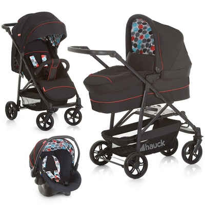 Fisher-Price® Kombi-Kinderwagen »Toronto 4 Trioset - Black«, (5-tlg), 3in1 Kinderwagen-Set inkl. Babyschale