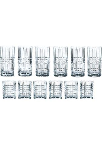 Nachtmann Gläser-Set »Highland« (12-tlg) Kristal...