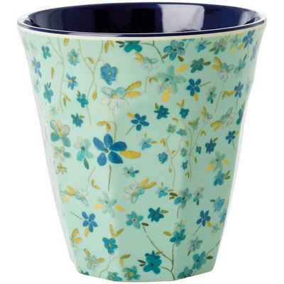 """rice Becher »Melamin Trinkbecher """"Blue Floral"""", H9cm«"""