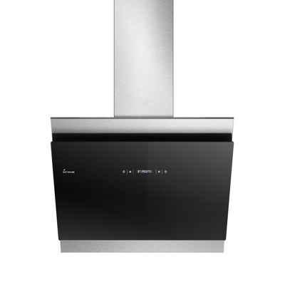 KKT KOLBE Wandhaube Dunstabzugshaube 60cm BICOLORE607SM RGBW Ambienteb, Kopffreihaube / 60cm / Edelstahl / Schwarzes Glas / Extra-leise / 605m³/h / RGBW-LED-Beleuchtung / WIFI / 4 Stufen / Touchsteuerung / Nachlauf-automatik