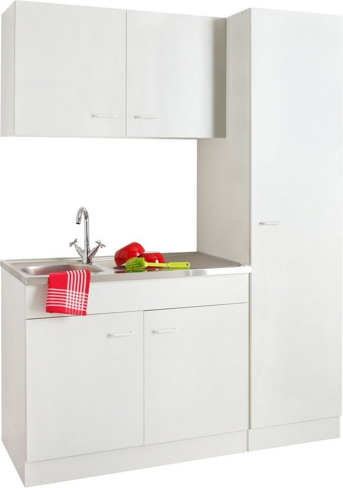 Küchenblock »Elster«, Breite 150 cm in Weiß
