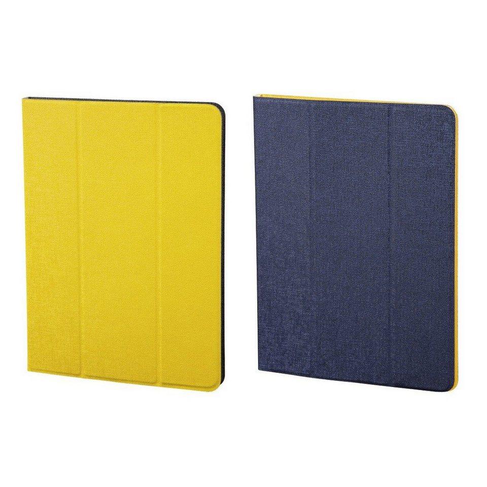 Hama Portfolio TwoTone für alle Tablets bis 17,8 cm (7), Blau/Gelb in Color set