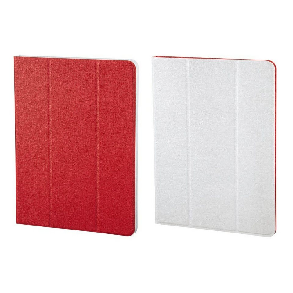 Hama Portfolio TwoTone für alle Tablets bis 17,8 cm (7), Rot/Weiß in Color set