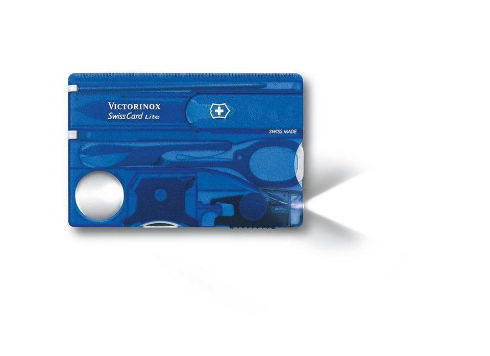 Victorinox SwissCard »Lite« in Blau
