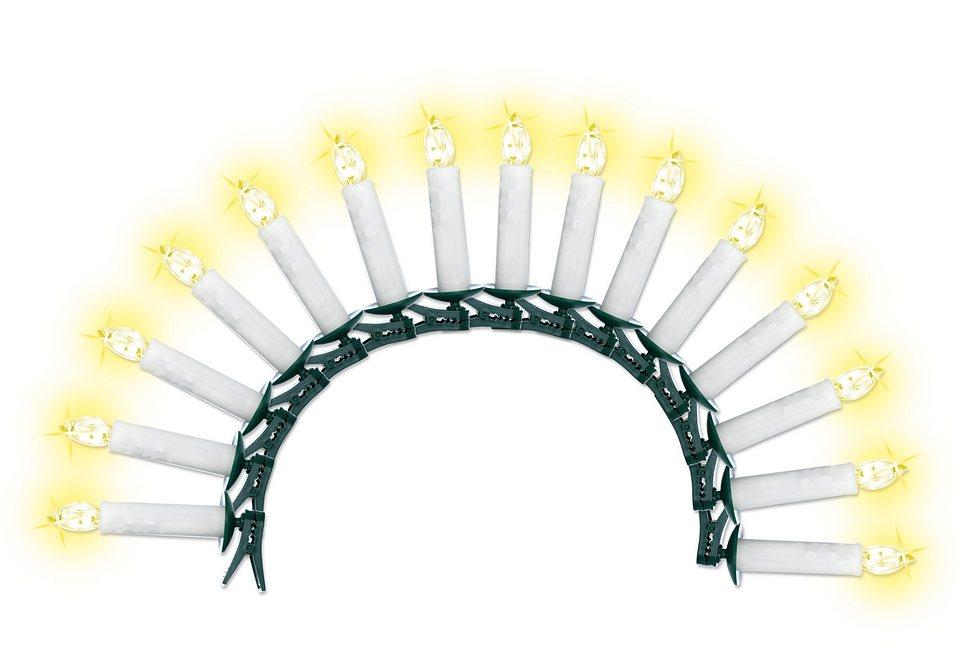 LED-Lichterkette (15tlg.) in weiß