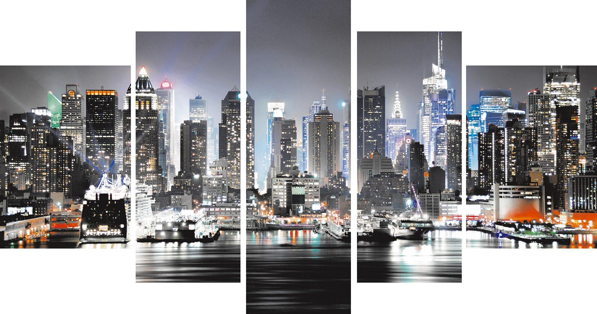 Leinwandbild, Home affaire, »New York City«, 110/60 cm