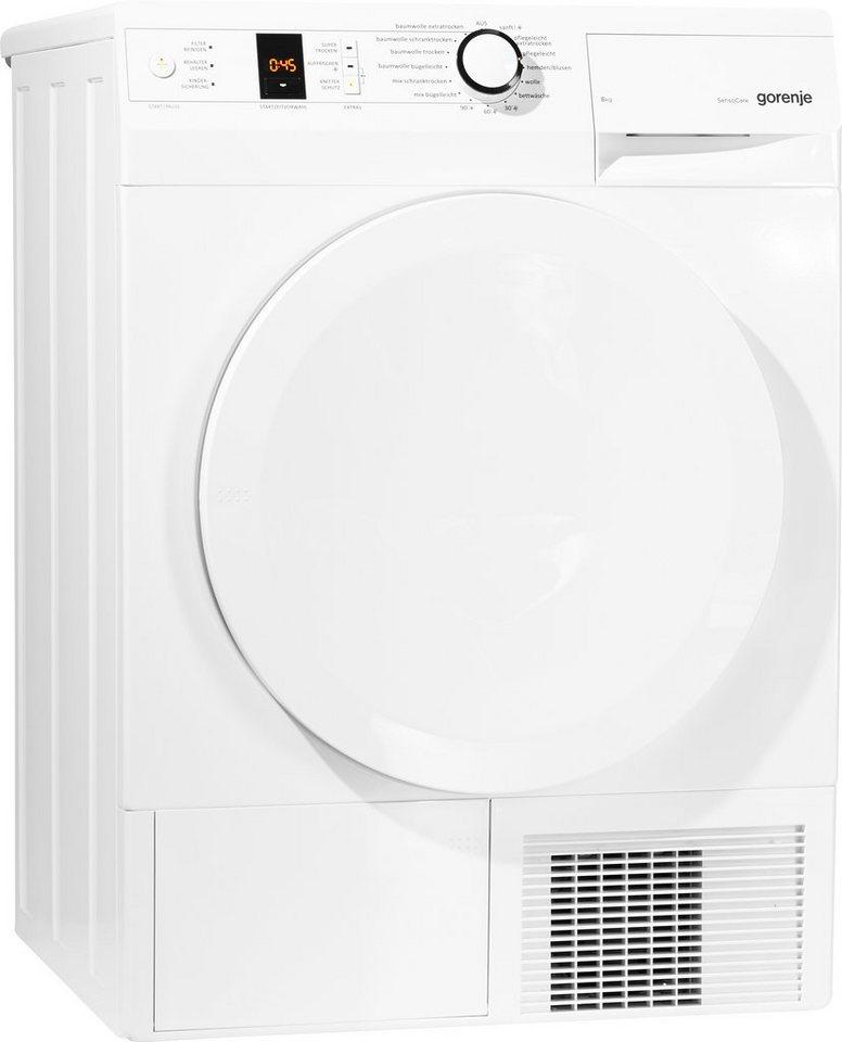 GORENJE Trockner D8 Eco A+++, A+++, 8 kg in weiß