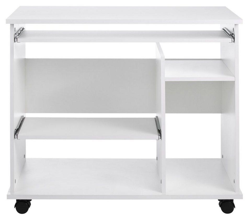 Schreibtisch »Compi« in weißfarben