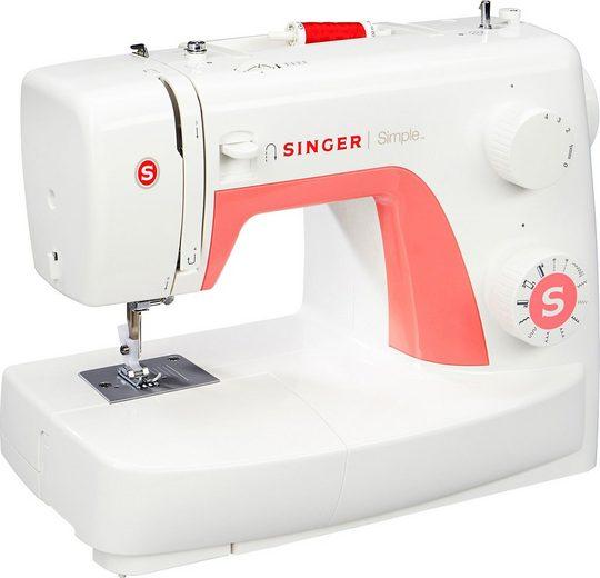 Singer Nähmaschine Simple 3210, 10 Programme, 10 Stiche