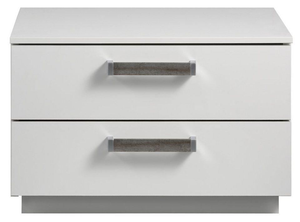 INOSIGN Nachtkonsole, Breite 55 cm, Made in Germany in alpinweiß