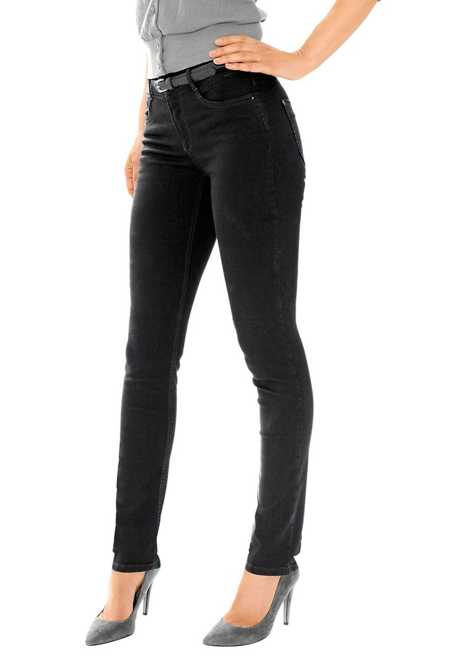 Ascari Jeans herrlich bequem in schwarz