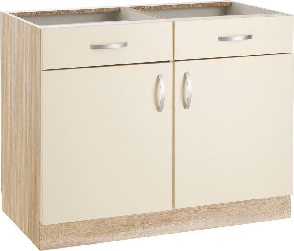 wiho Küchen Unterschrank »Flexi« Breite 100 cm | OTTO