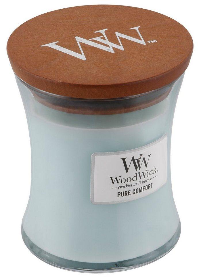 Duftkerze, Home affaire, »WoodWick« in blau