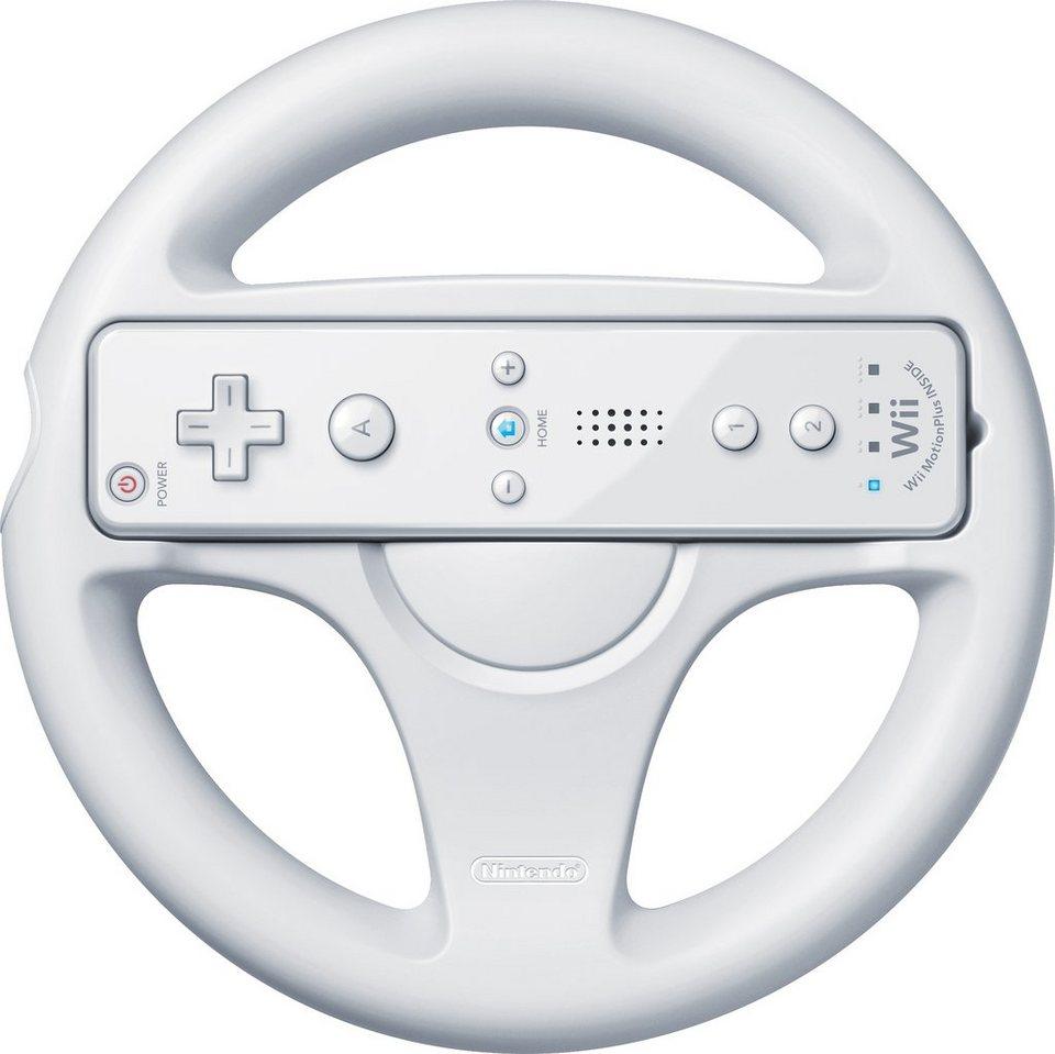 NIntendo Wii U Lenkrad in weiß